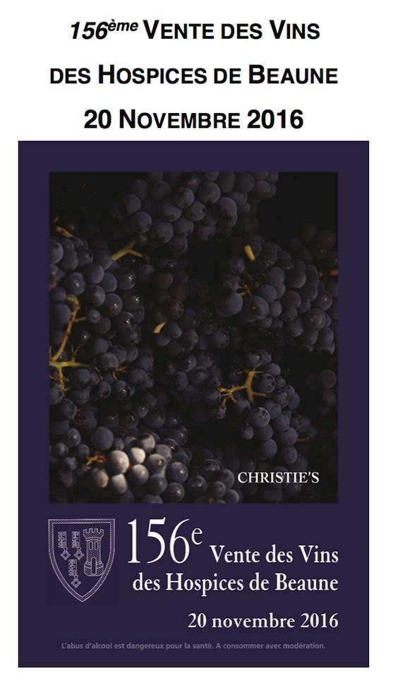 Hospices de Beaune wine auction