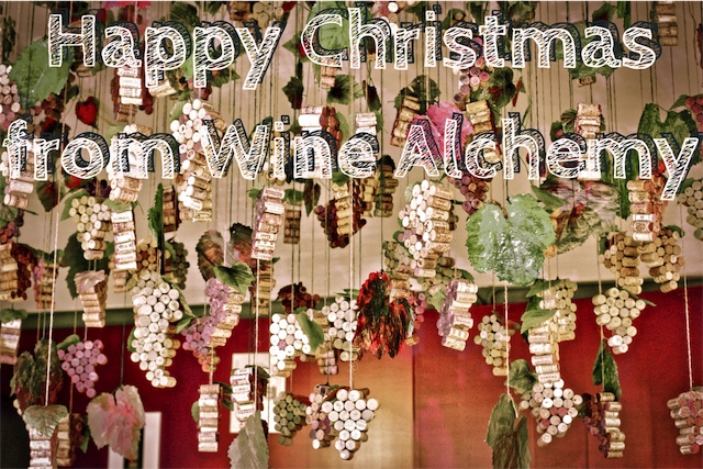 Happy Christmas Card from Wine Alchemy