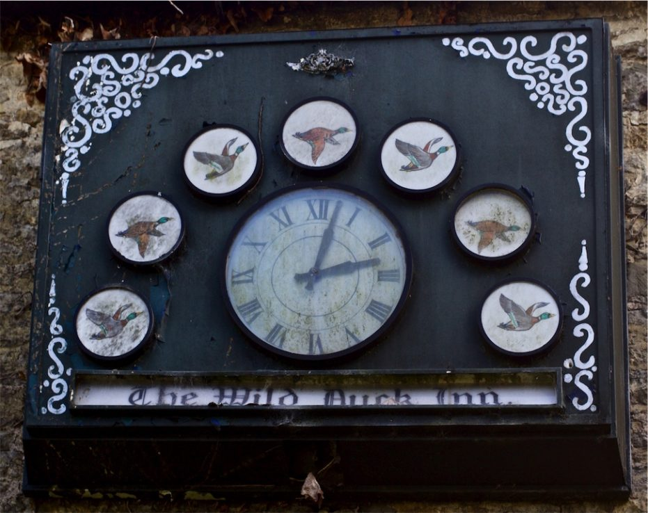 Wild Duck Inn - Clock