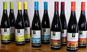 Terroir Rieslings by Tesch in the Nahe
