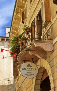 Coffele entranceway