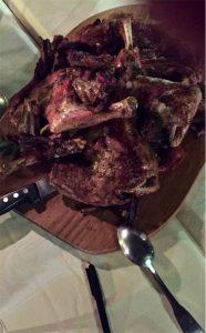 Une Table de Corsa - Lamb Grillée