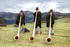 Alphorn Section at the Witch Trials