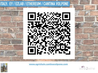 Cantina Volpone QR Code, from Grape 2 Glass