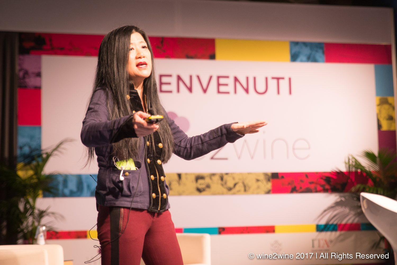 wine2wine Verona Stevie Kim