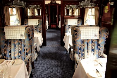 A typical British Pullman carriage
