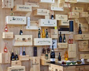 Wine Display at FICO