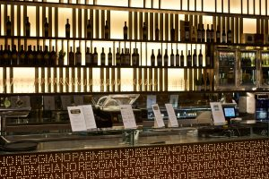 Parmigiano Reggiano bar at FICO