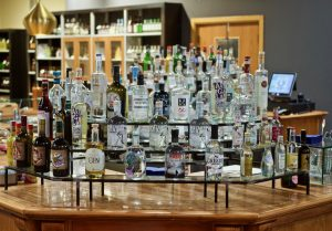 Gin bar at FICO