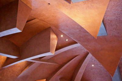 Inside Carapace at Castelbuono, Sagrantino