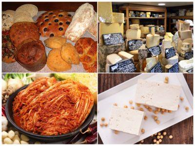 Bread, Cheese, Kimchi & Tofu