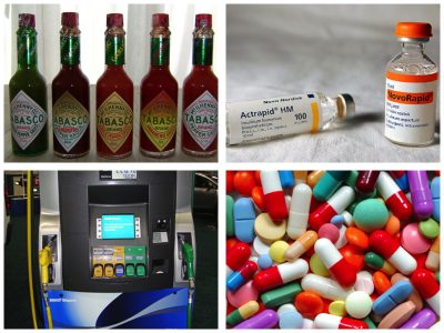 Tabasco, Insulin, Biofuels and Antibiotics