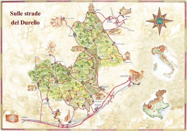 Lessini Durello Map