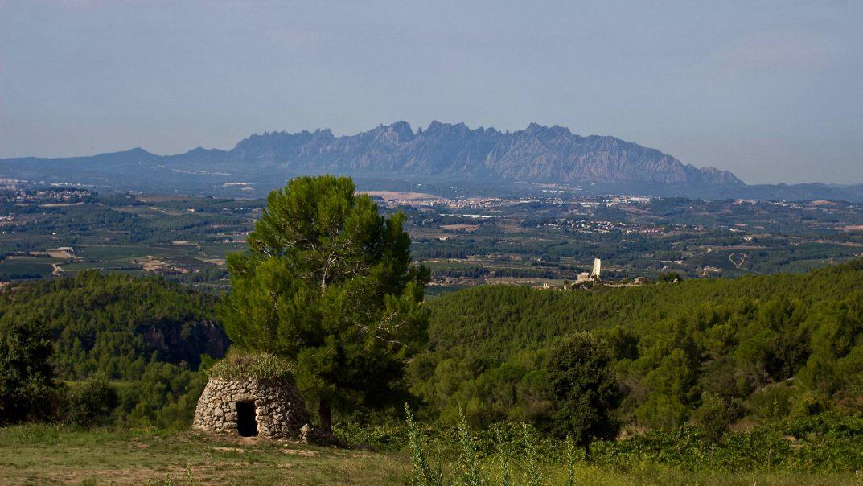 Llopart looking towards Montserrat