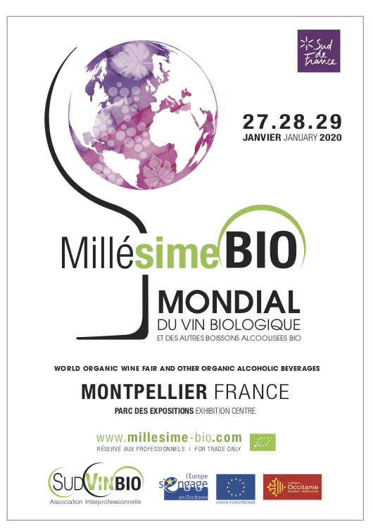 Millésime Bio 2020 Exhibition Poster