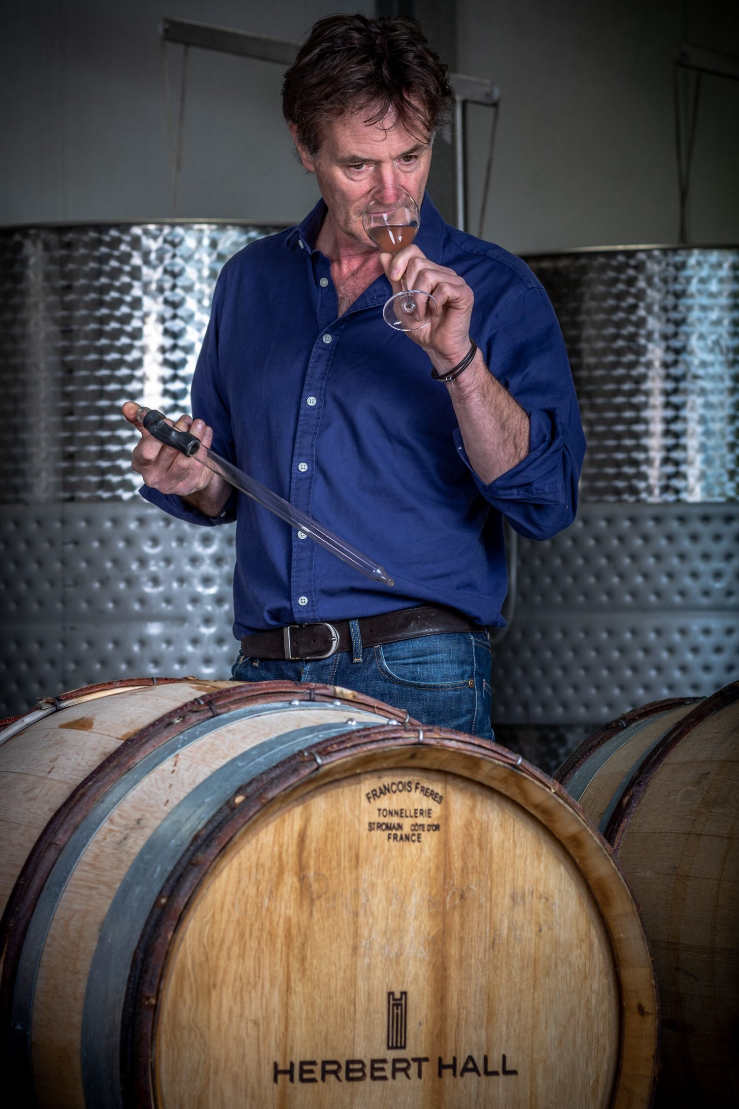 Nick Hall, Herbert Hall winery