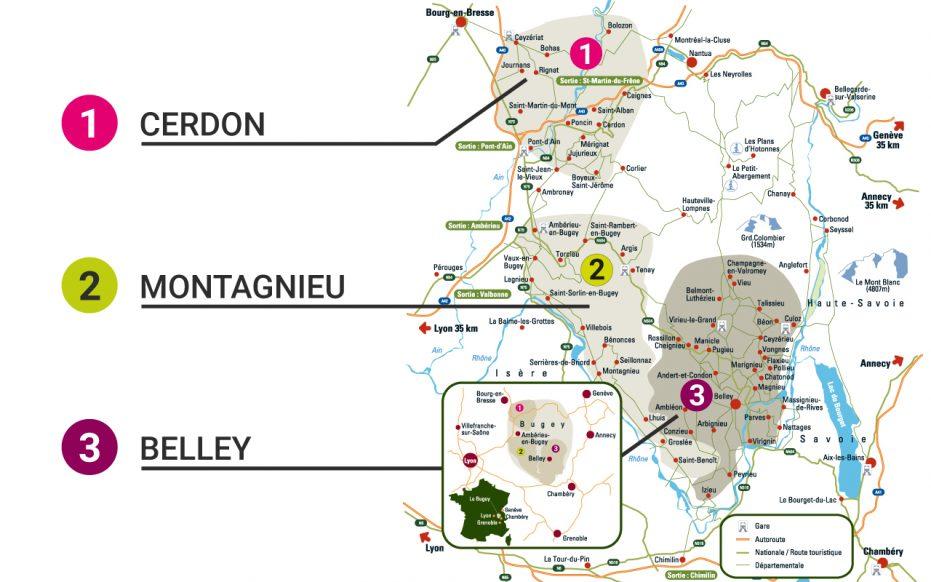 Bugey wine region, France