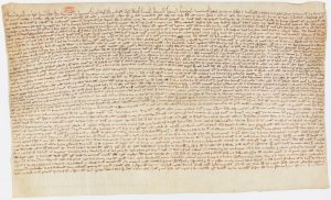 Magna Carta, British Library, 1216
