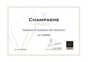 Comité Champagne MOOC PCH Certificate 30.06.20