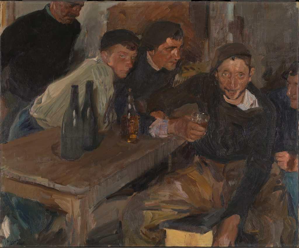 Txakoli: The Drunkard, Zaruatz, by Joaquín Sorolla