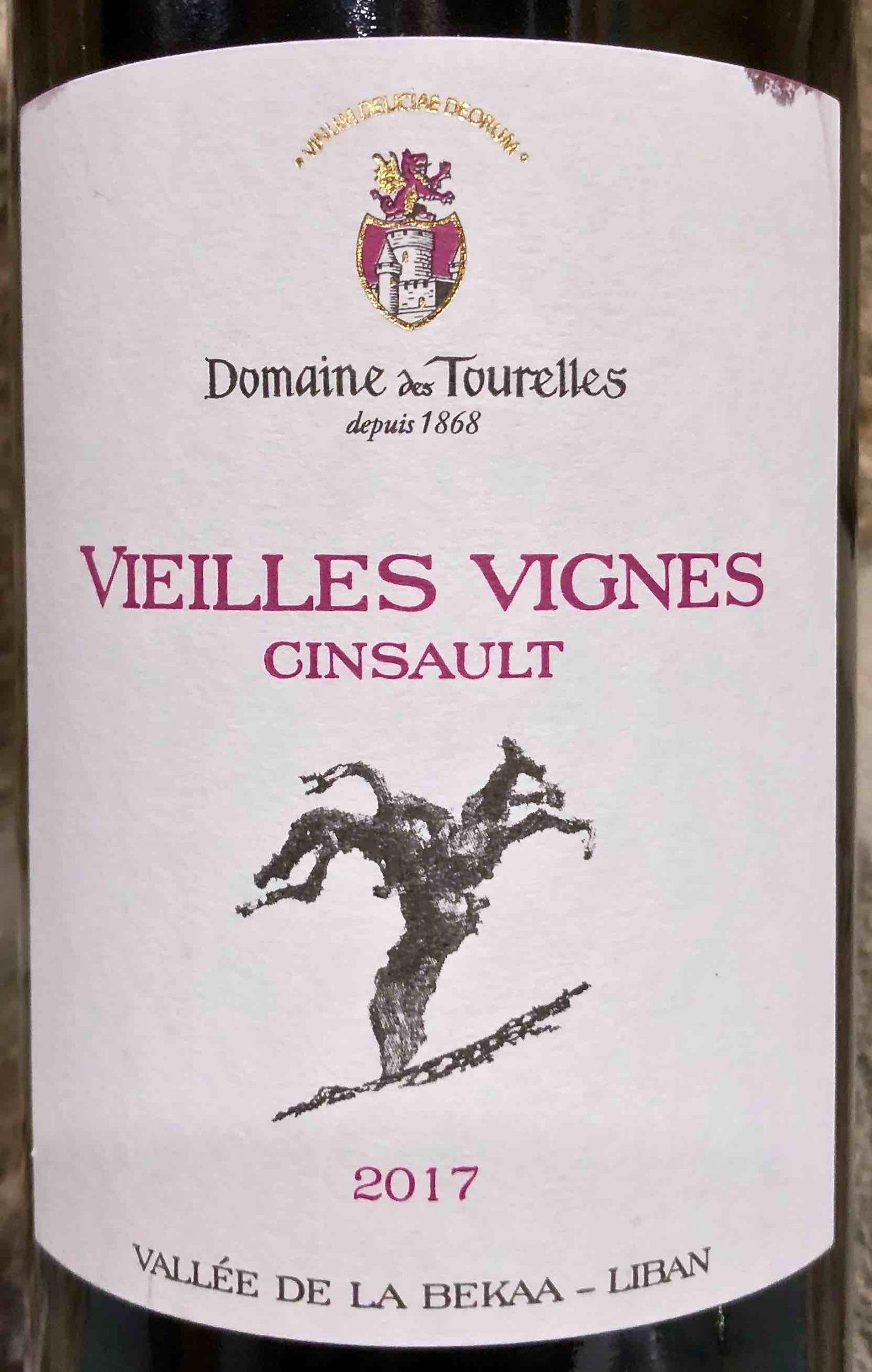 Domaine des Tourelles Cinsault VV
