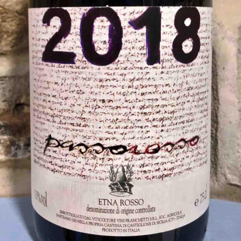 Passorosso Etna Rosso DOC 2018