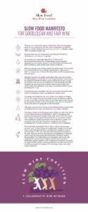 Slow Wine Coalition Manifesto